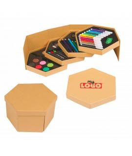 Boîte à peinture, goodies personnalisable pour enfants