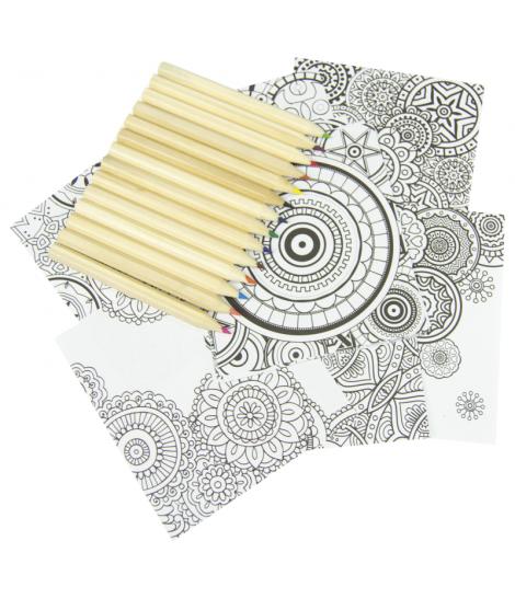 Kit Coloriage De Mandala