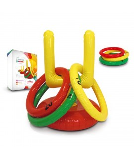 Customizable outdoor inflatable ring set - child advertising gift