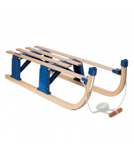 Foldable wooden sledge