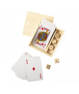 Wooden games box