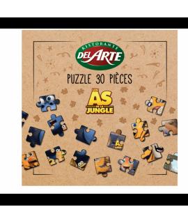 Puzzle menu children Del Arte The Jungle Bunch