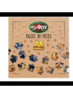 Puzzle menu enfant Del Arte les As de la Jungle