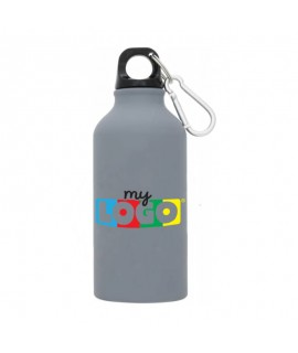 Alu sports gourd with musket - 400ml