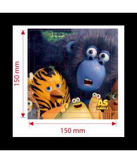 The Jungle Bunch Puzzle - Children's Prime for Del Arte Children's Menu