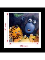 Puzzle les as de la jungle - Prime enfant pour menu enfant Del Arte