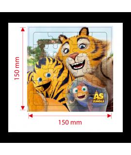 Jouet publicitaire enfant - Puzzle les As de la Jungle - Cadeau surprise