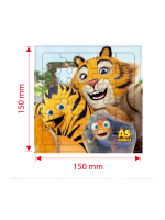 Children's Advertising Toy - Puzzle The Jungle Bunch - Surprise Gift