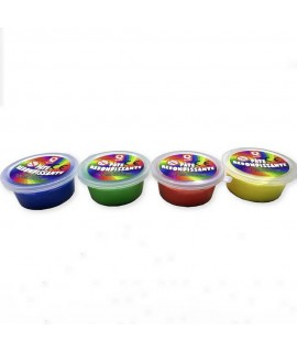 Custom four-color bouncing dough for Quick fast food