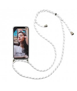 Custom silicone phone protective case with rope collar - trendy goodies
