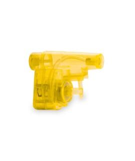 mini yellow advertising water pistol - Summer Child Goodies