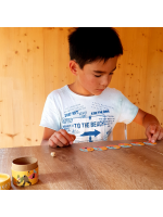 Personalised card game - Eco-responsible child goodies