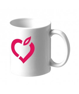 Custom Mug with STUDIO COMME J'AIME Logo - Customizable White Porcelain Cup