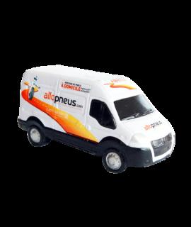 Objet publicitaire anti stress - Squeeshy - Petit camion personnalisable avec logo Allo Pneus