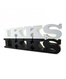 Bloc logo boutique de prêt à porter personnalisé pour la marque IKKS