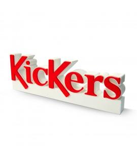 bloc logo en pvc pour la marque Kickers