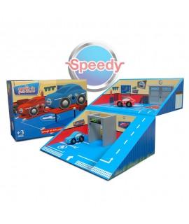 Malette Garage personnalisé pour la marque Speedy