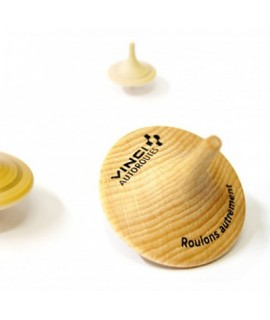 Vinci Wood Spinning Top