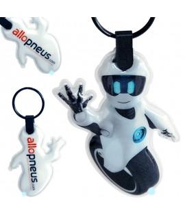 Porte clef LED personnalisé pour la marque Allo Pneus