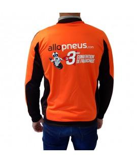 Veste de travail personnalisée pour la marque Allo Pneus