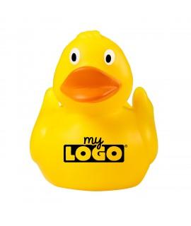 Le canard en caoutchouc idéal comme goodies publicitaire enfant.