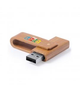 Clé USB en bambou, un objet publicitaire pour les enfants