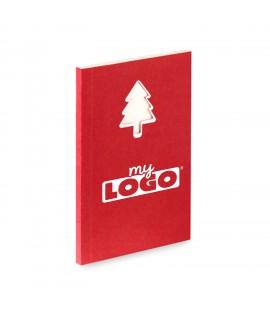 Block notes Christmas tree, children's advertising item for Christmas