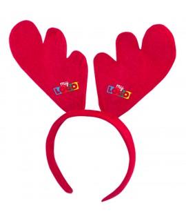 Serre-tête de Noël, objet pub enfants pour Noël