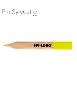 Crayon fluo, objet pub made in France