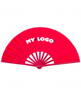 Customizable fan, advertising goodies for summer
