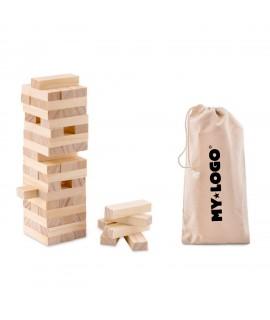 Tour bancale personnalisable, goodies en bois pour enfants